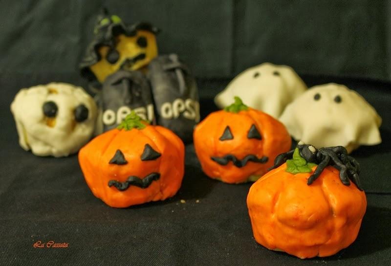 Muffins au potiron sans gluten pour Halloween - La Cassata Celiaca