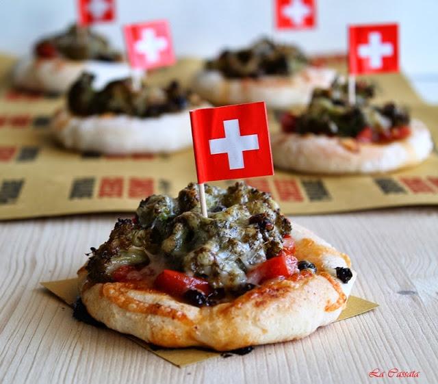 Pizzetta végétarienne sans gluten - La Cassata Celiaca
