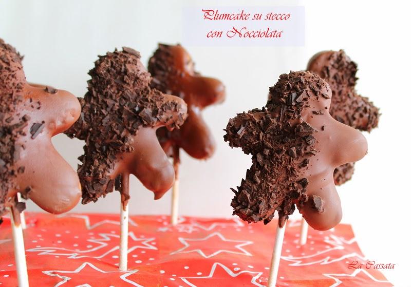 Plumcake su stecco con Nocciolata - La Cassata Celiaca