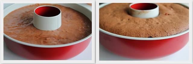 Savarin brownie senza glutine - La Cassata Celiaca
