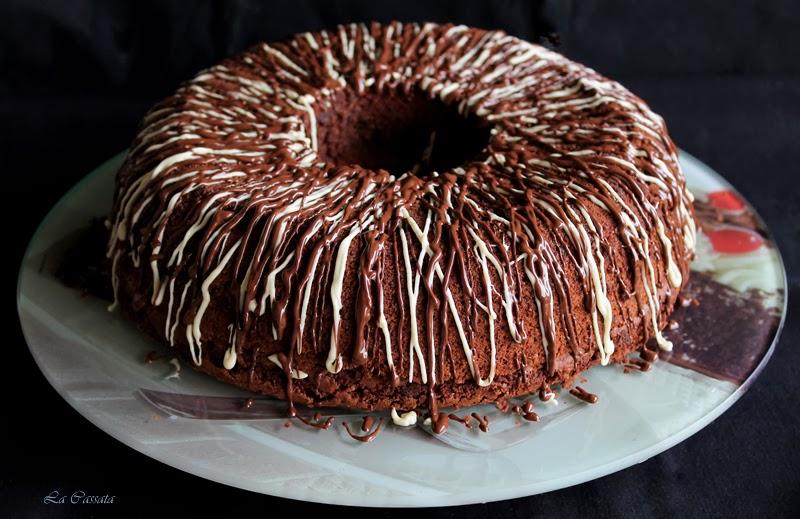 Savarin brownie sans gluten - La Cassata Celiaca