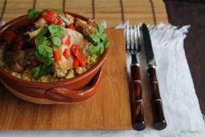 Coniglio in agrodolce con cous cous al limone - La Cassata Celiaca