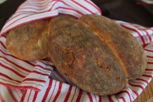 Pain fendu sans gluten au levain - La Cassata Celiaca