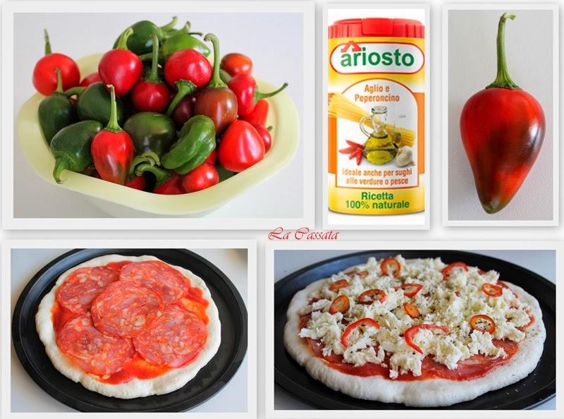 Pizza piquante sans gluten - La Cassata Celiaca