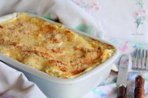 Lasagne sans gluten au robiola et au saumon fumé - La Cassata Celiaca