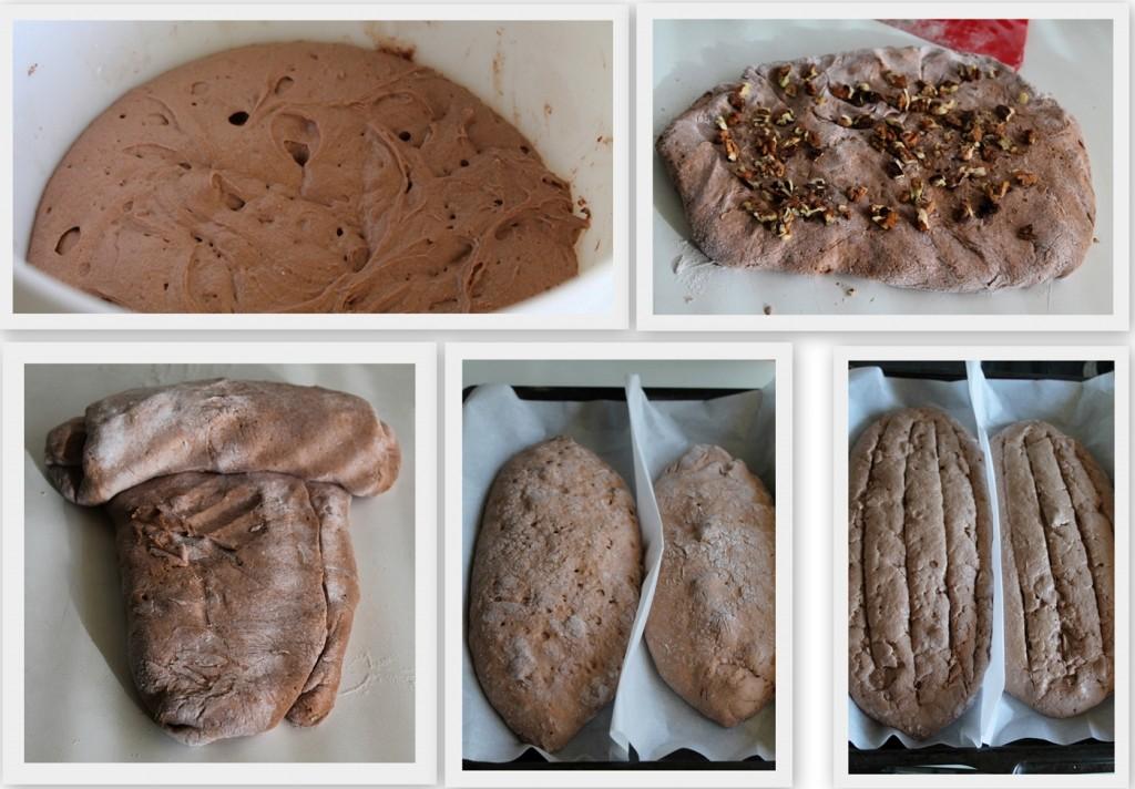 Pain cabosse al cacao e noci, senza glutine - La Cassata Celiaca