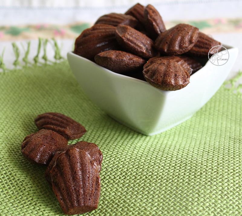 Madeleines al cioccolato di Anna Lisa