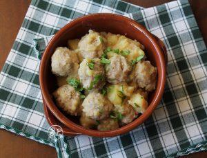Boulettes de viande avec pommes de terre sans gluten - La Cassata Celiaca