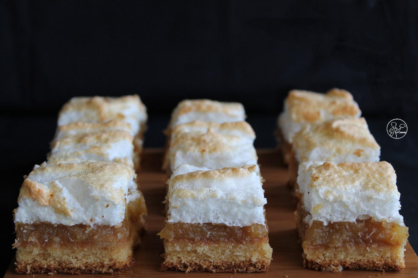 Gâteau aux pommes et meringue sans gluten - La Cassata Celiaca