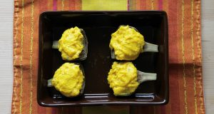 Artichauts au safran sans gluten - La Cassata Celiaca