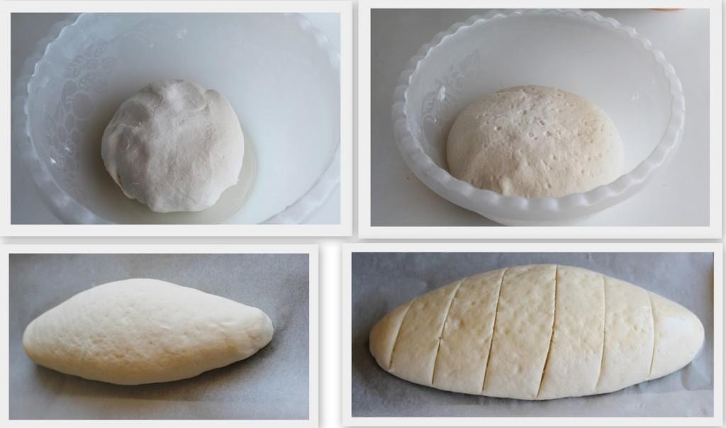 Façonnage de pain sans gluten  et sans lactose - La Cassata Celiaca