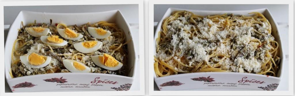 Gratin di spaghetti e carciofi - La Cassata Celiaca