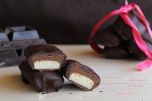Barres chocolatées façon Lion sans gluten - La Cassata Celiaca