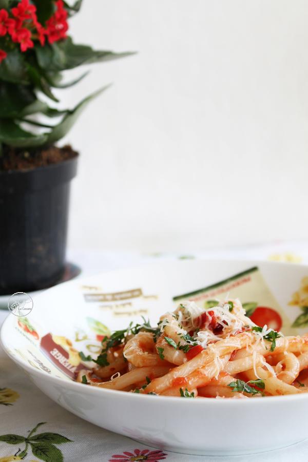 Pici aglio, olio e peperoncino (anche senza glutine) - La Cassata Celiaca
