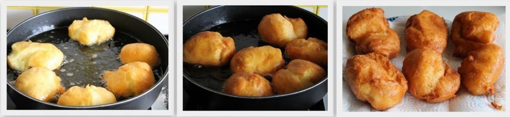 Beignets sans gluten de Saint-Joseph (sfinci) - La Cassata Celiaca