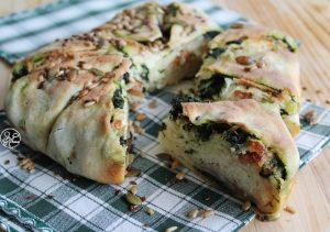 Börek senza glutine con spinaci, formaggio e crudo - La Cassata Celiaca
