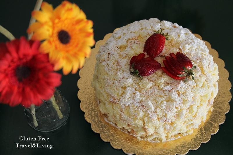 Gâteau Mimosa sans gluten: la vidéo recette - La Cassata Celiaca