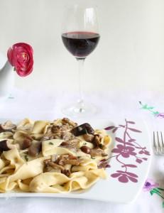 Pappardelle ai funghi senza glutine - La Cassata Celiaca
