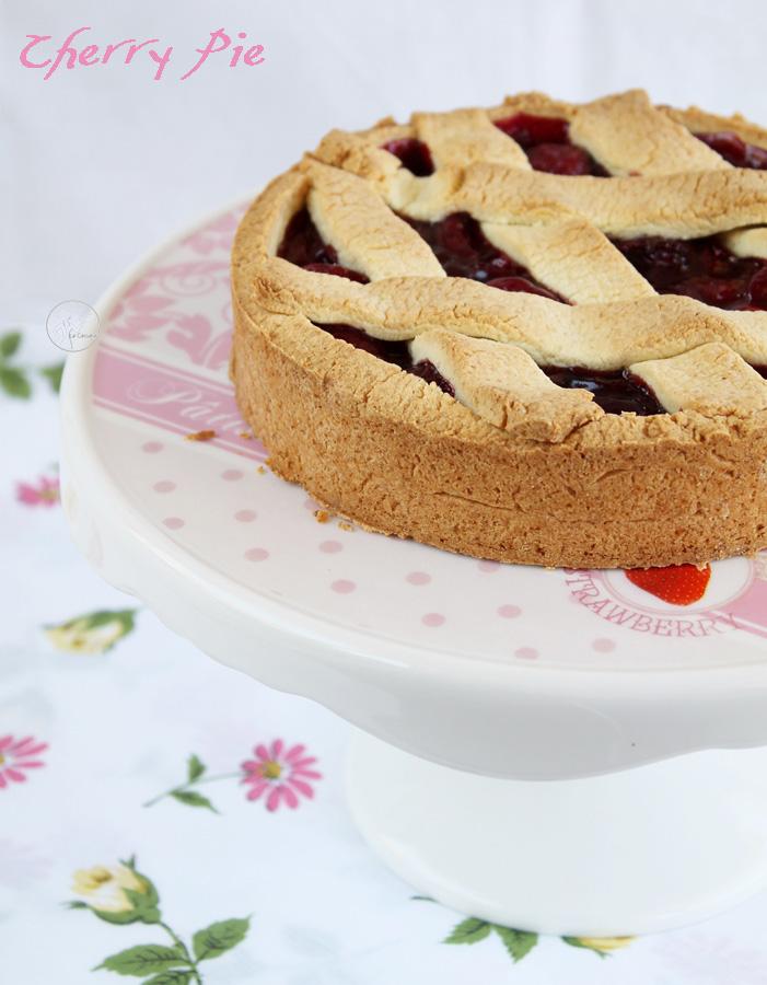 Cherry pie sans gluten - La Cassata Celiaca