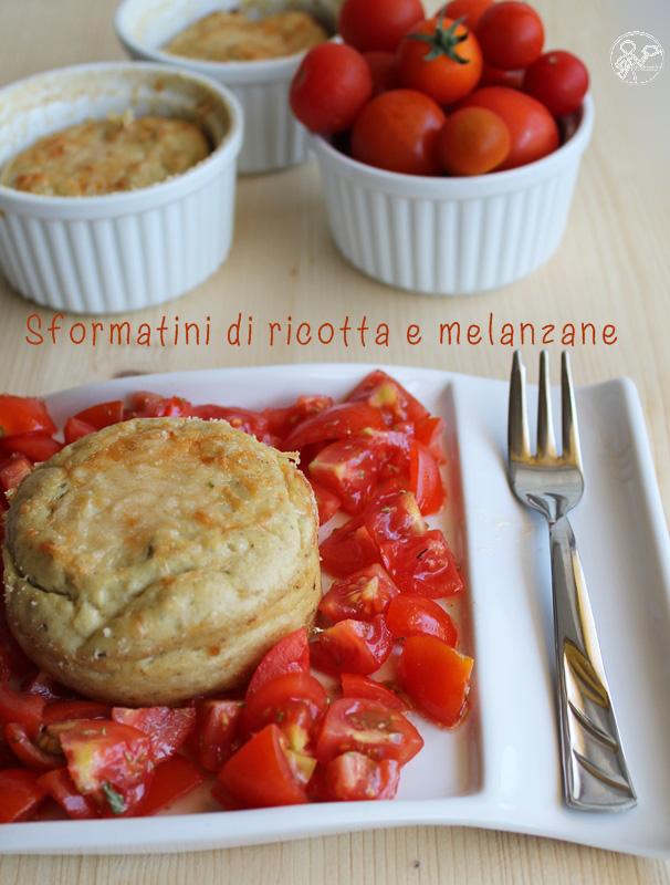 Flan de ricotta et aubergines sans gluten - La Cassata Celiaca