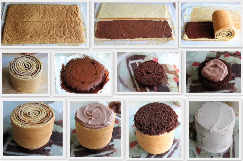 Chocolate Roulade Cake - La Cassata Celiaca