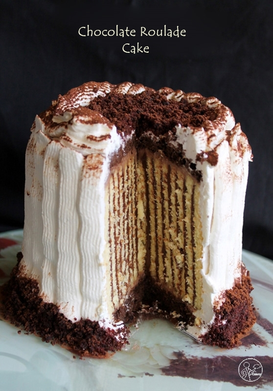 Roulade cake sans gluten au chocolat - La Cassata Celiaca