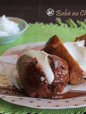 Babà al cioccolato - La Cassata Celiaca