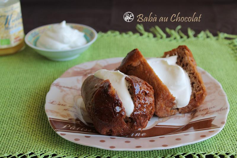 Babà au chocolat sans gluten - La Cassata Celiaca