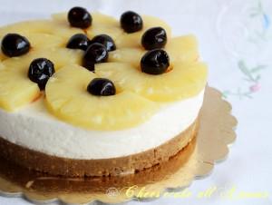 Gâteau froid à l'ananas (sans gluten ni lactose) - La Cassata Celiaca