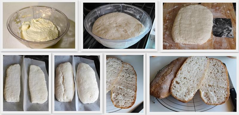 Ciabatta senza glutine - La Cassata Celiaca
