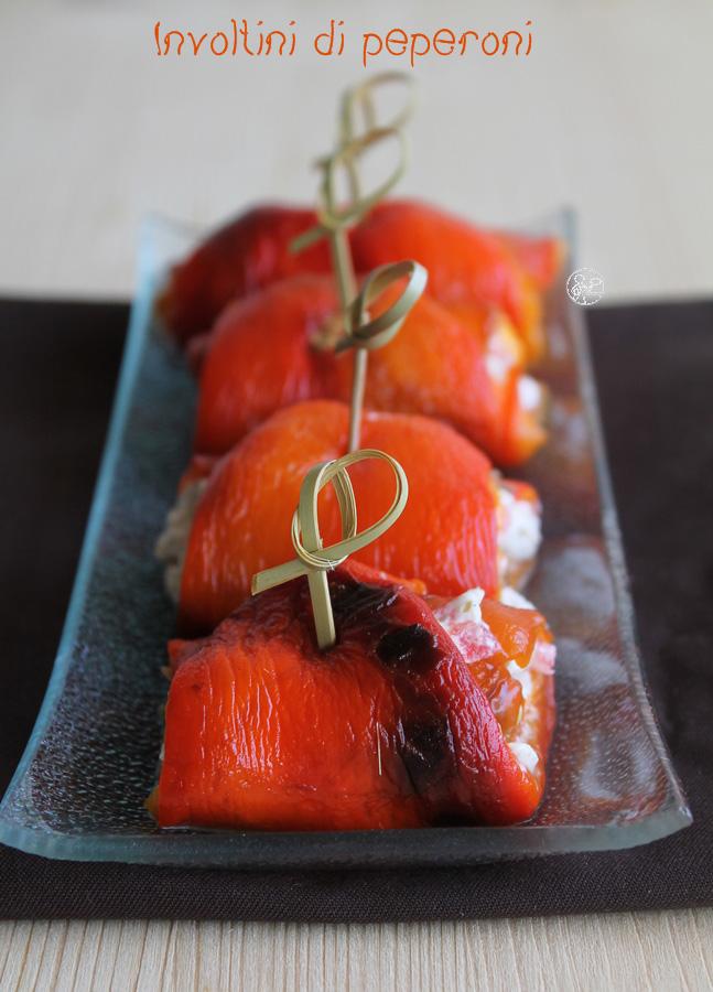 Involtini di peperoni - La Cassata Celiaca