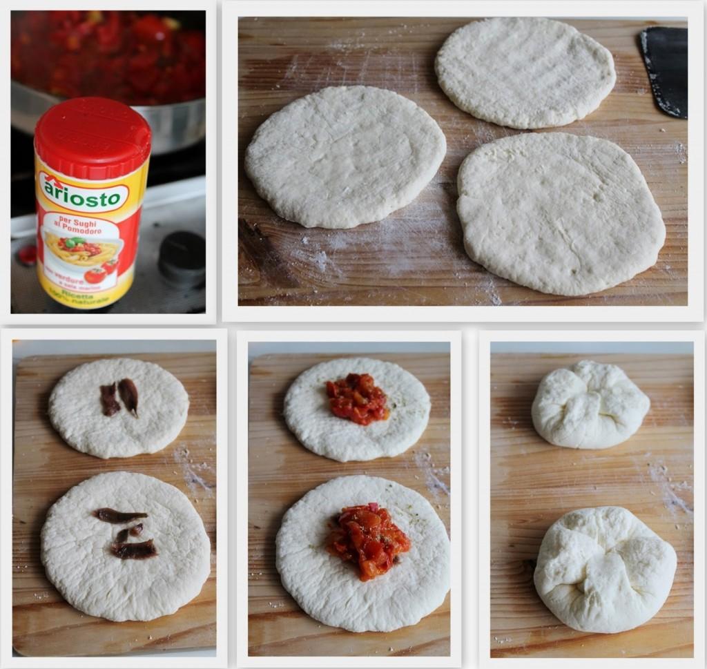 Petits pains fourrés de Santa Chiara (sans gluten) - La Cassata Celiaca