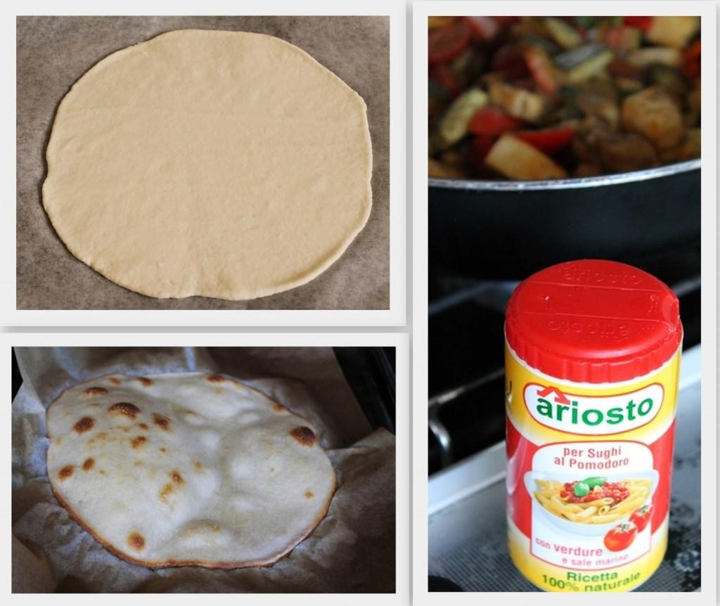 Spianata con le verdure, senza glutine - La Cassata Celiaca