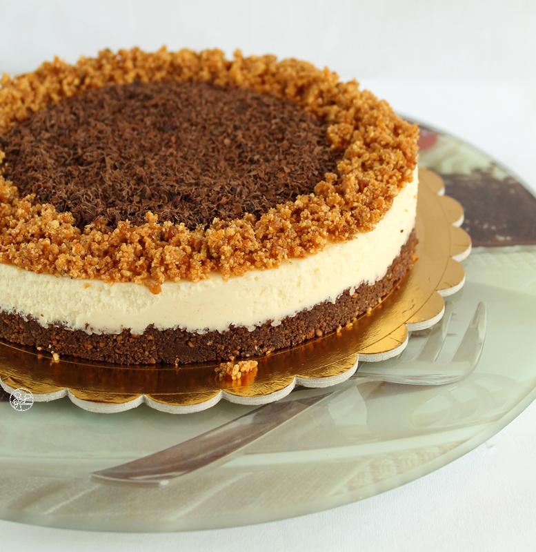 Finta cheesecake al cioccolato bianco - La Cassata Celiaca
