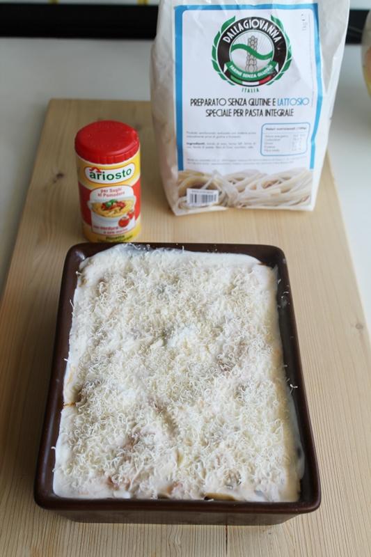 Lasagne integrali alle verdure senza glutine - La Cassata Celiaca