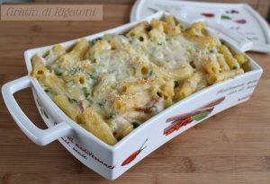 Gratin de rigatonis sans gluten - La Cassata Celiaca