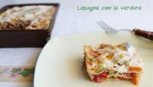 Lasagnes aux légumes sans gluten - La Cassata Celiaca