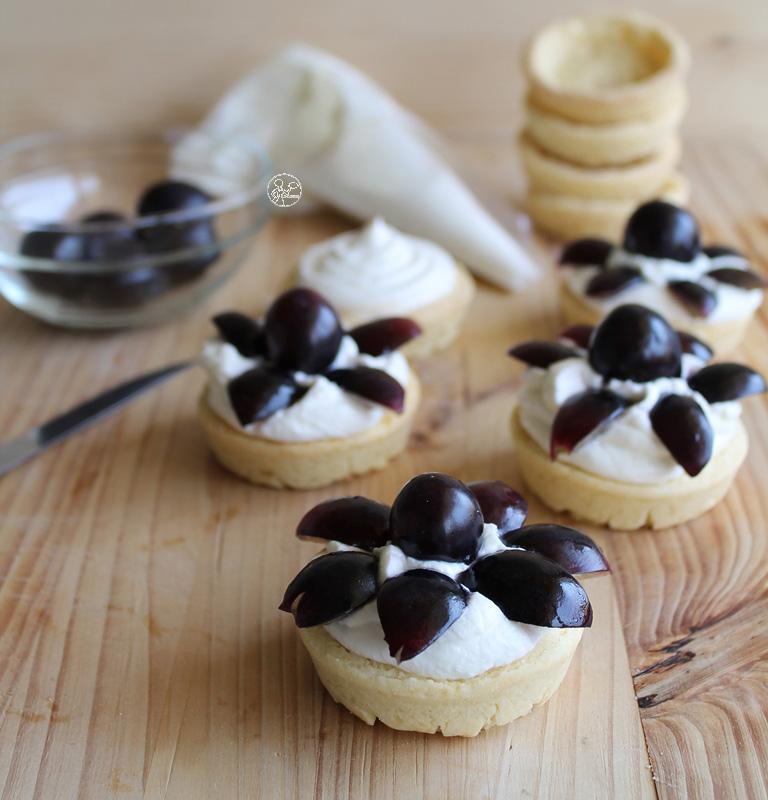 Tartelettes automnales (sans gluten ni sucre) - La Cassata Celiaca