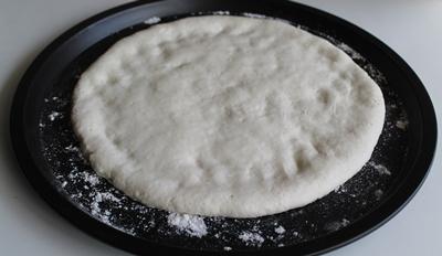 Pizza senza glutine con salmone e panna - La Cassata Celiaca