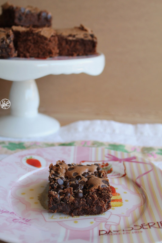 Brownie sans gluten du chef Elmi - La Cassata Celiaca