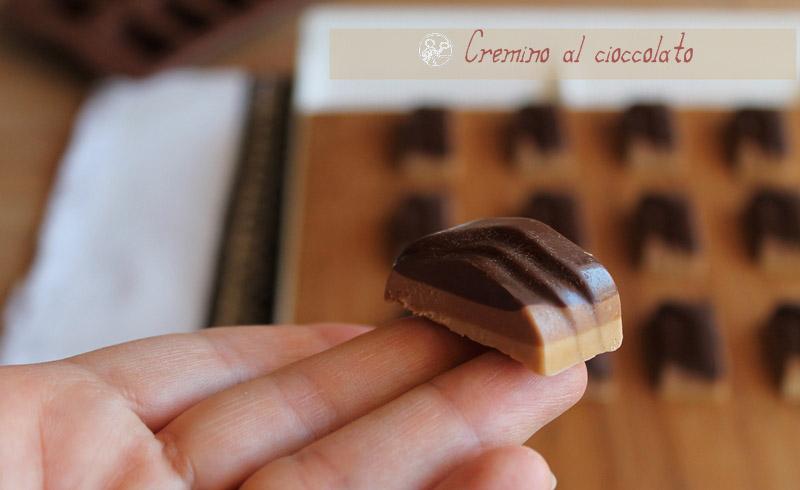 Cremino aux trois chocolats sans gluten - La Cassata Celiaca