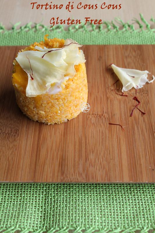 Cous cous avec légumes et fromage (sans gluten) - La Cassata Celiaca