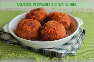 Arancina de spaghettis (sans gluten) - La Cassata Celiaca