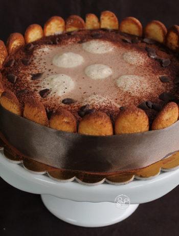 Charlotte Tiramisù sans gluten - La Cassata Celiaca