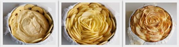 Torta Fior di mela di Claudia ma senza glutine - La Cassata Celiaca