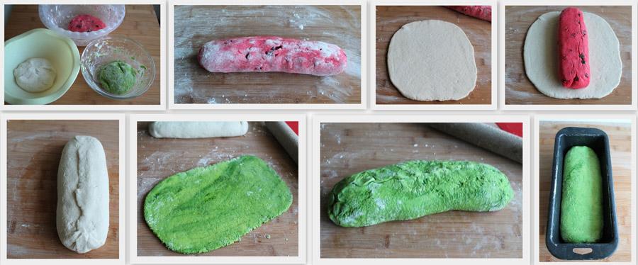 Une étrange pastèque (pain sans gluten) - La Cassata Celiaca