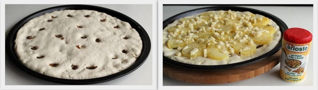 Pizza con le patate senza glutine - La Cassata Celiaca