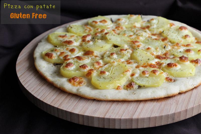 Pizza aux pommes de terre sans gluten - La Cassata Celiaca