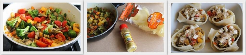 Caccavelle con verdure al curry - La Cassata Celiaca