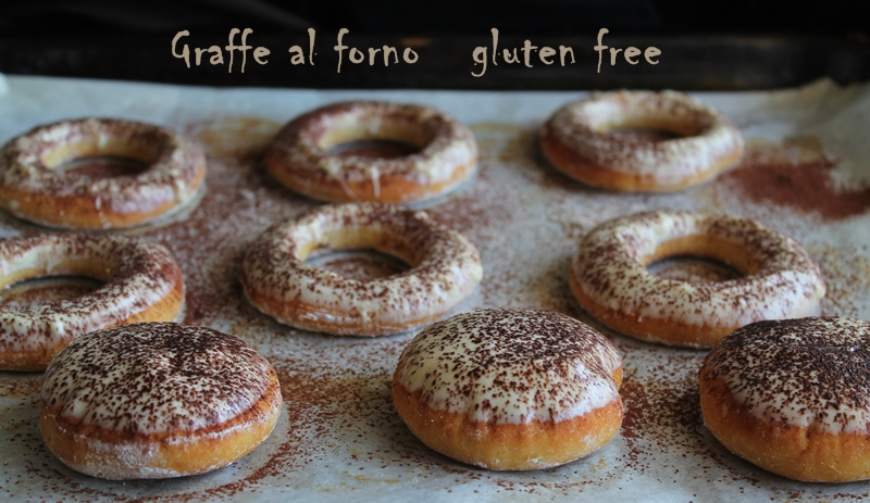 Graffe senza glutine al forno- La Cassata Celiaca